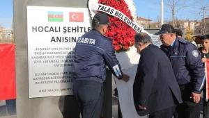 Hocalı katliamında ölenler bugün Talas'ta anıldı!