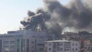 İzmir'de, özel hastanede yangın
