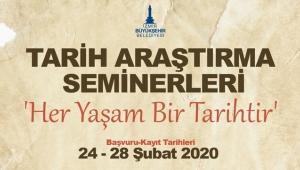 İzmir'de Tarih Araştırma seminerlerine başvurularda son gün!