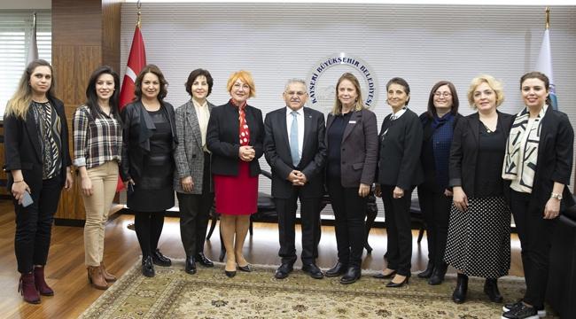 KADİGER Genel Merkez Yönetimi Başkan Büyükkılıç'ı ziyaret etti!