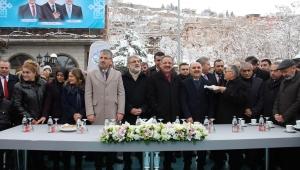 Kayseri Talas'ta yüz ağartan projeler törenle hizmete açıldı