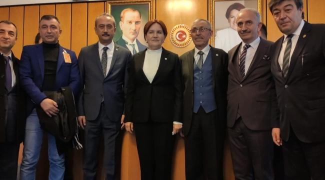 Kayseri İyi Parti Teşkilatlarından Ankara Çıkarması