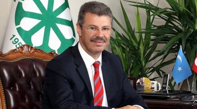 Kayseri Pancar Ekicileri Kooperatifi Yönetim Kurulu Başkanı Hüseyin Akay'ın Kandil mesajı!