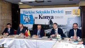 """Konya Büyükşehir'den """"Türkiye Selçuklu Devleti Başşehri Konya"""" Çalıştayı"""