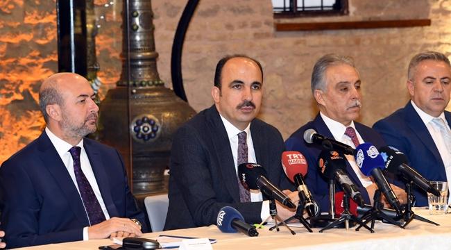 Konya'da Düğünler ve Konvoylarla İlgili Ortak Basın Toplantısı Düzenlendi!