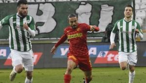 Konyaspor sahasında Göztepe'ye mağlup oldu!