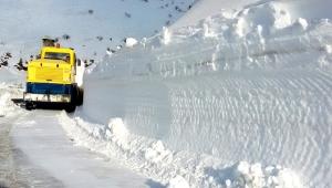 Malatya Büyükşehir Belediyesi kar yağışları sonrası kapanan 59 mahalle yolunu ulaşıma açtı!