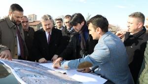 Melikgazi Belediyesi'nden Hulusi Akar Bulvarına Bağlantı Yolu