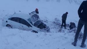 Şarampole yuvarlanan otomobildeki 7 yaşındaki çocuk hayatını kaybetti
