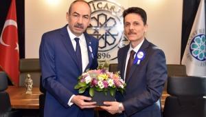 Vergi Dairesi Başkanı Günçavdı'dan KTO Başkanı Ömer Gülsoy'a Ziyaret!