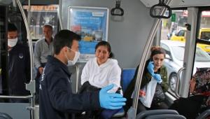 Antalya Büyükşehir Zabıtasından koronavirüs denetimi!