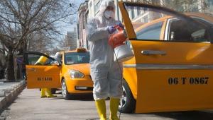 Başkent'te Koronavirüsle Mücadele Tam Gaz Sürüyor