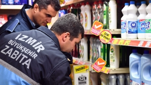 İzmir'de zabıtadan fahiş fiyat denetimleri yapılıyor!