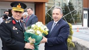 Jandarma Genel Komutanı Çetin'den Kayseri Talas Belediye Başkanı Mustafa Yalçın'a Ziyaret