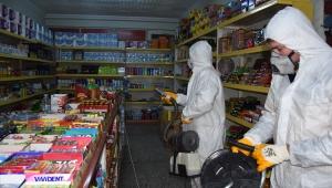 Kayseri Büyükşehir Belediyesi İlçeleride Dezenfekte Ediyor
