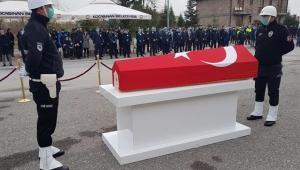 Kayseri'de kazada ölen Asayiş Şube Müdürü, toprağa verildi