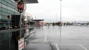 Kayseri'de şehirler arası otobüs terminalinde sessizlik!