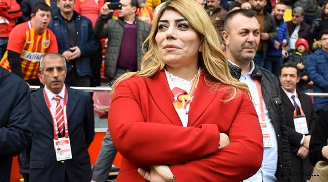 Kayserispor Başkanı Berna Gözbaşı'ndan TFF'ye Koronavirüs isyanı!