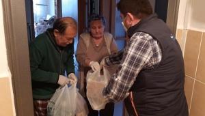 Malatya'da Esenlik Şirketi siparişleri evlere teslim ediyor!