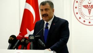 Sağlık Bakanı Fahrettin Koca koronavirüse ilişkin son rakamları açıkladı!