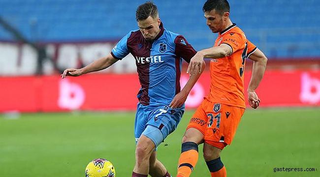 Trabzonspor ve Başakşehir puanları paylaştı!