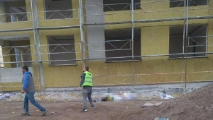 13'üncü kattan düşen inşaat işçisi öldü
