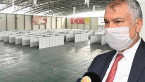 Adana Büyükşehir, koronavirüsle mücadelede sağlıkçılara lojman hazırladı, sahra hastanesi kurdu!