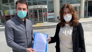 CHP Kayseri İl Başkanı Ümit Özer ve yönetim kurulu üyeleri, Fatih Tezcan hakkında suç duyurusu.