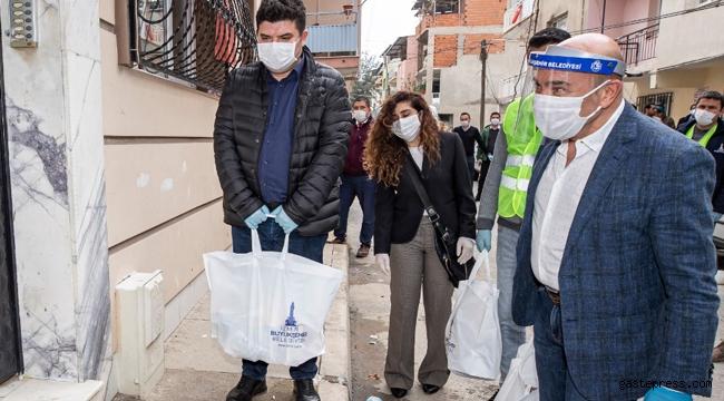 İzmir Büyükşehir'in dayanışma kampanyasına inşaat mühendislerinden destek geldi!