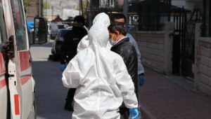Kayseri'de İlaç almak için koronavirüs karantinasından çıkınca hastaneye götürüldü!