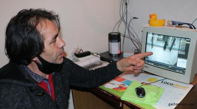 Kimyasal bulaştırılan apartmanda koronavirüs paniği