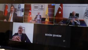 Konya'da Başkan Altay İlçe Belediye Başkanlarıyla Görüştü!