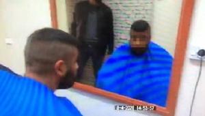 Konya'da kuralları dinlemeyerek tıraş yapan berber pişman oldu!
