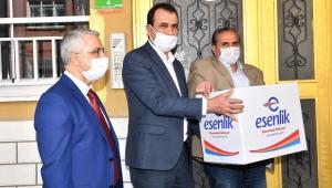 Malatya Büyükşehirden İşyerleri Kapanan Berber ve Kuaförlere Gıda Yardımı!