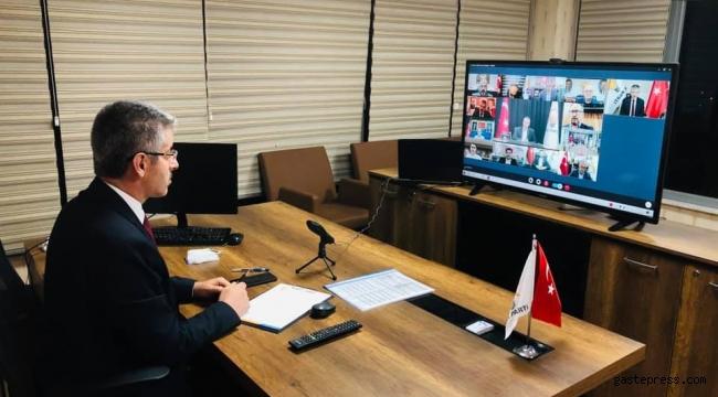 Başkan Çopuroğlu, İl başkanları istişare toplantısına katıldı