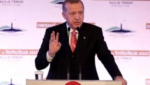 Cumhurbaşkanı Erdoğan'dan Demokrasi ve Özgürlükler Adası açılış töreninde önemli açıklamalar