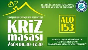 Eskişehir'de Kriz Masası Vatandaşlara El Uzatmaya Devam Ediyor!