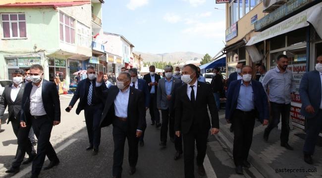 Kayseri Büyükşehir Belediye Başkanı Memduh Büyükkılıç'tan İlçelere Ziyaret