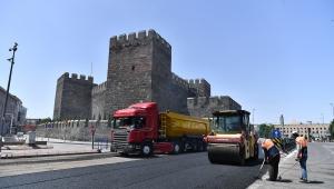Kayseri Büyükşehir Belediyesi ekiplerinin çalışmaları devam ediyor.