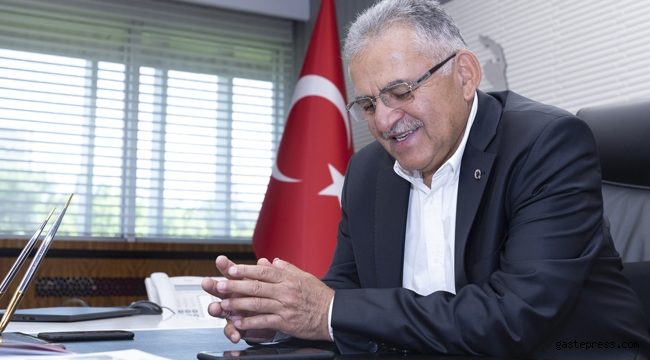 Kayseri'de Memduh Başkan'dan