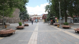 Kayseri'de, sokağa çıkma kısıtlamasının ilk gününde sessizlik vardı!