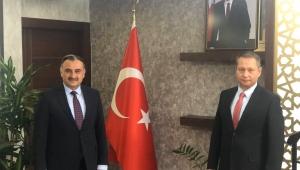 Kayseri Develi Belediye Başkanı Mehmet Cabbar'dan Karayolları Bölge Müdürüne Hayırlı Olsun Ziyareti