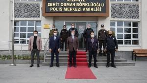 Kayseri Melikgazi Belediye Başkanı Dr. Mustafa Palancıoğlu, Şehit Aileleri ve Polisleri Unutmadı