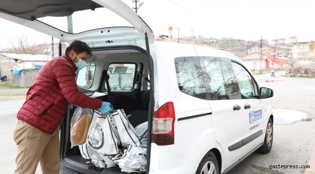 Kayseri Melikgazi'de Ramazan Ayında Yardım Paketleri Yine İhtiyaç Sahiplerine Ulaştı.