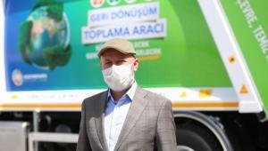 Kayseri'nin Çevreci Belediyesi Kocasinan'dan Türkiye'de İlk İkili Toplama Sistemli Araç!