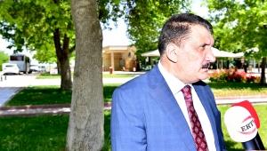 Malatya Büyükşehir Belediye Başkanı Gürkan, Ramazan Bayramı öncesi şehir mezarlığını ziyaret etti