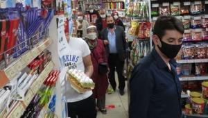 Marketlerde son dakika yoğunluğu yaşandı!
