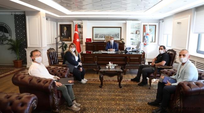 Melikgazi Belediye Başkanı Dr. Mustafa Palancıoğlu, Kayserispor'un alt yapısı Melikgazi'de yetişecek