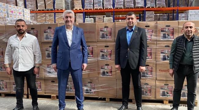 MHP Kayseri Milletvekili Baki Ersoy'dan 7500 Aileye İaşe Paketi