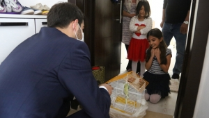Sivas'da Başkan Bilgin Minik Elif'in İsteğini Geri Çevirmedi!